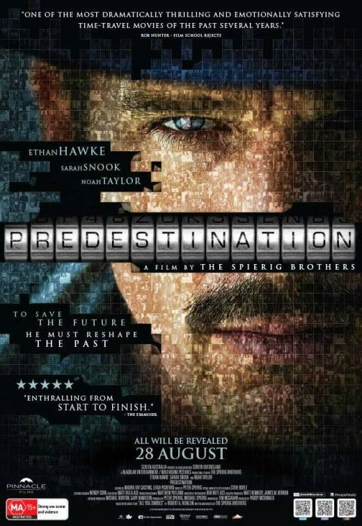 Movie Review: Predestination (2014) Ya la viste?