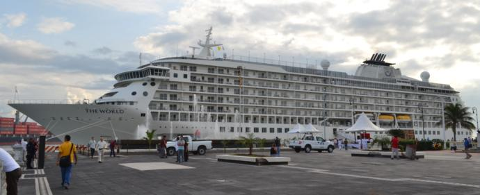 Crucero the world en Veracruz